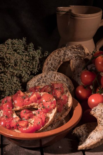 friselle con pomodorini